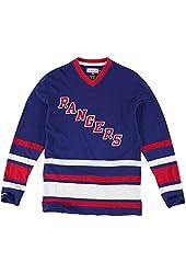 Mitchell & Ness Nhl 1St Quarter Ny Rangers Hockey Jersey 4Xl