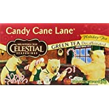 Celestial Seasonings Candy Cane Decaf Green Tea Bags, 20 ct
