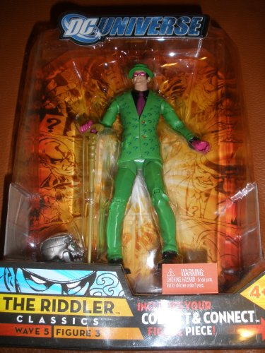 DC Universe Classics Exclusive Series 5 Action Figure The Riddler