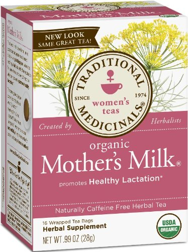 Traditional Medicinals Organic Mother's Milk, 16-Count Boxes (Pack of 6)