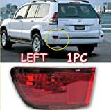 2003 2004 2005 2006 2007 2008 2009 Toyota Prado Cruiser FJ120 Tail Light Brake Fog Lamp FJ 120 Left 1pc