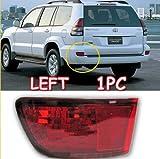 GOOACC® 2003 2004 2005 2006 2007 2008 2009 Toyota Prado Cruiser FJ120 Tail Light Brake Fog Lamp FJ 120 Left 1pc
