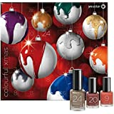 Nagellack Adventskalender, youstar, 24 Trendfarben / Trendlacken, Set , Kollektion, Nailpolish