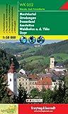 Freytag Berndt Wanderkarten, WK 052, Mostviertel - Strudengau - Donauland - Amstetten - Waidhofen a.d. Ybbs - Steyr - Maßstab 1:50 000
