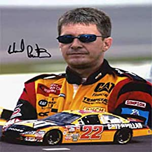 Ward Burton Autographed Signed 8x10 Photo by Hollywood Collectibles