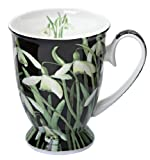 Angela Faulkner, Fine Bone China Mug, Snowdrop.