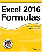Excel 2016 Formulas Front Cover