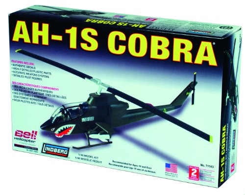 Lindberg 1:48 scale AH-IS Cobra