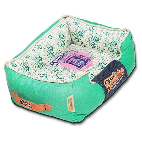 Touchdog-Floral-Galore-Vintage-printed-Ultra-Plush-Rectangular-Designer-Dog-Bed