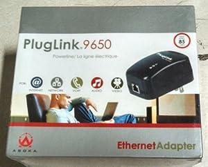 Asoka PlugLink 9650 85Mbps HomePlug Powerline Ethernet Adapter
