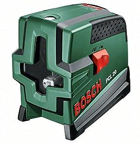 Bosch PCL 20 KreuzlinienLaser + Schutztasche + Wandhalterung (10 m Arbeitsbereich, Lotfunktion)  BaumarktKritiken und weitere Informationen