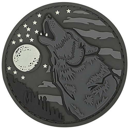 "Maxpedition Wolf 2.4 x 2.4"" Patch, Glow"