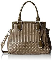 Gussaci Italy Women's Handbag (Greyish Brown) (GC226)