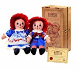 """12"""" Raggedy Ann and Andy Collectors Set"""