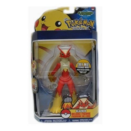 Pokemon Jakks Pacific Battle Frontier Series 2 Deluxe Electronic Action Figure Blaziken
