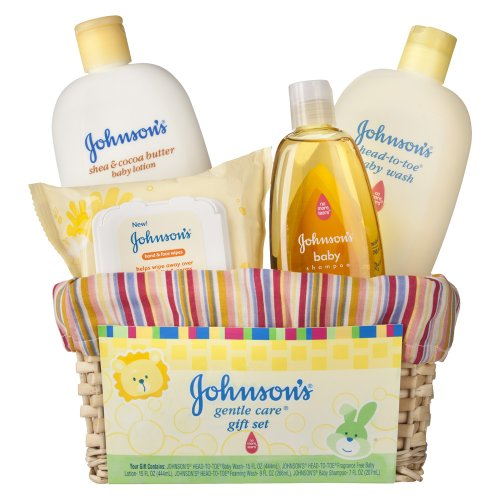 Johnson Baby Gift Set Coupons : Baby care gift set johnson s gentle