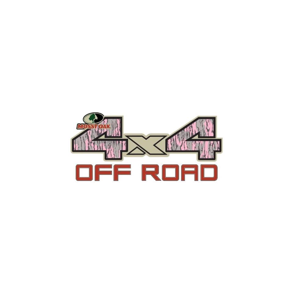 Mossy Oak Graphics 13001-BI-S Break-Up Infinity 7 x 3.75 4x4 Off-Road Style Decal