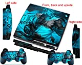 PS3 Skins Decals Vinyl Cover Street Fighter Ryu for PS 3 Slim Console