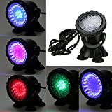 MuchBuy 36-LED Submersible Light for Water Gardens and Ponds