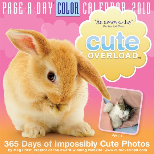 Cute Overload Page-A-Day Calendar 2010: Meg Frost: 9780761153108: Amazon.com: Books