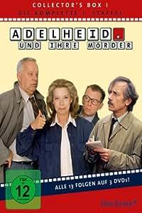 Adelheid und ihre Mörder - Adelheid Box 1: Die komplette 1.Staffel (Folge 01-13) [3 DVDs]