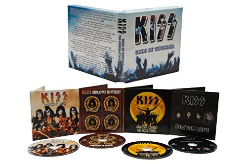Gods of Thunder - The Legendary Broadcasts 1974-'94 (4 CD Box Set) by Kiss