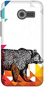 The Racoon Grip Bear With Me hard plastic printed back case / cover for Asus Zenfone 4 A400CG