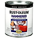 Rust-Oleum 239075 Hammered Metal Finish, Dark Bronze, 1-Quart