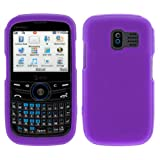 GTMax Purple Soft Rubber Silicone Skin Cover Case for AT&T Pantech Link GSM ....