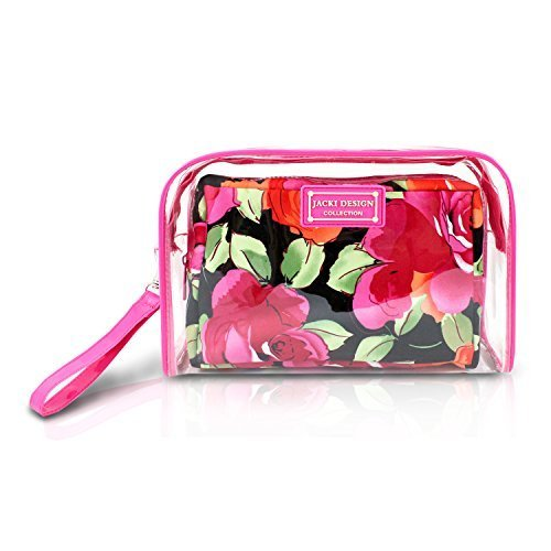 jacki-design-tropicana-floral-2-pc-clear-travel-cosmetic-bag-organizer-w-wristlet-by-jacki-design