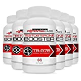 TB-975 Testosterone Booster (6 Pack) - Ultimate Sports Nutrition Dietary Supplement Rockets your Testosterone Level Through the Roof & Gives you the Energy, Endurance & Stamina of Superman in the Gym & Bedroom; Energizing Muscle Building & Libido Enhancer Stimulants of Fenugreek, DIM (Diindolymethane), Tongkat Ali (Eurycoma Longifolia), Vitamin B6, Magnesium, Zinc, Piper Nigrum, Rhodiola (No Tribulus) for Pre / Post Workout; No Other Product Stacks Up; Money Back Guarantee