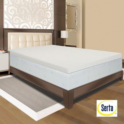 Serta Ultimate 4-inch Memory Foam Mattress Topper - Queen