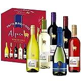 【チリワイン売上No1】アルパカ 6種類 飲み比べBOX 750ml×6本セット ランキングお取り寄せ
