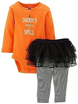 Carter's 2 Pc Halloween Tutu Set