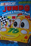 Nascar Jumbo Coloring and Activity Book (Race Track on Back!)