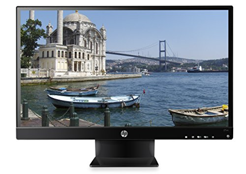 "HP 27vx Monitor, 27""/68,58 cm, Full HD, Retroilluminazione LED IPS, HDMI, Nero"