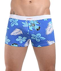 Xuba Men's Cotton Trunk (XB1411213019_Blue_M)