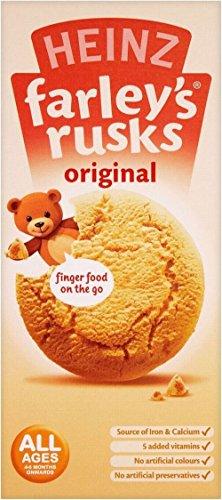 Heinz Farley'S Rusks Original 4Mth+ (9 Per Pack - 150G) front-802139