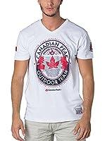 CANADIAN PEAK Camiseta Manga Corta Jeineken (Blanco)