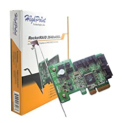 HighPoint RocketRAID 2640X4SGL 4-Channel PCI-Express x4 SAS 3Gb/s RAID Controller