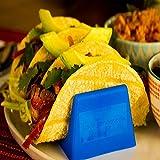Taco Tender Holder - Plastic Stand Holds 3 Tacos - Set of 4