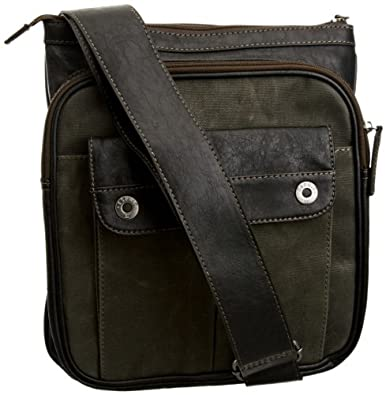 Esprit Men's X26010 Black Medium Shoulder Bag: Amazon.co ...