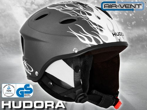 Hudora Snowboardhelm Skihelm Helm HBX M 52-54 TÜV/GS