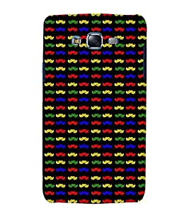 printtech Moustache Designer Pattern Back Case Cover for Samsung Galaxy Core 2 G355H