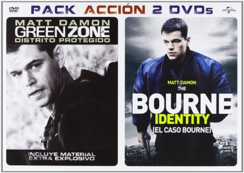 Pack: Green Zone: Distrito Protegido + El Caso Bourne [DVD]