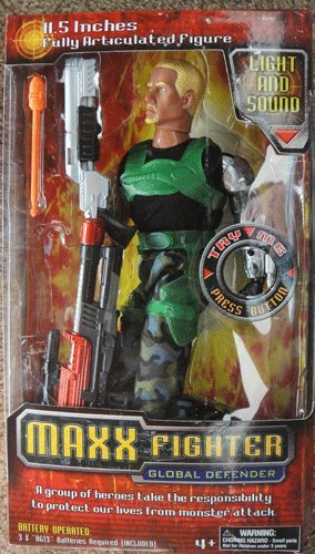 Maxx Fighter Global Defender Figure 11.5""