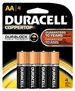 P & G/ Duracell 03561 Popular Alkaline Battery-4PK AA ALKALINE BATTERY