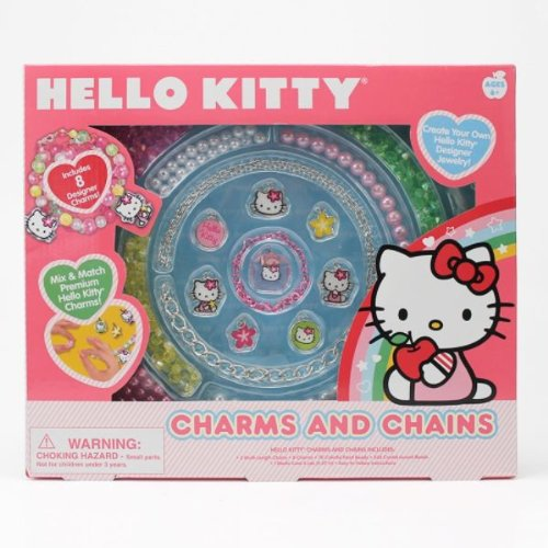 Hello Kitty Charms and Chains Jewelry Making Kit
