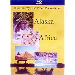 Alaska & Africa Dual Blu-ray Pack