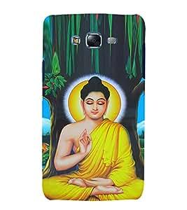Mahatma Budh 3D Hard Polycarbonate Designer Back Case Cover for Samsung Galaxy J7 J700F (2015 OLD MODEL) :: Samsung Galaxy J7 Duos :: Samsung Galaxy J7 J700M J700H